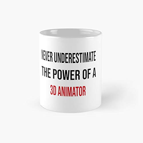 3D Animator Classic Mug B - Unique Gift Ideas for Her from Daughter Or Son Cool Novelty Cups 11 Oz.
