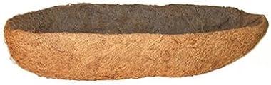 "Panacea Products (2) EA 88595 48"" x 7.5""D, Window Box Planter/Trough Coco Liners"