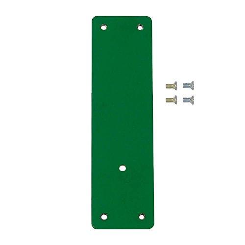 Montageplatte für Fluchttürwächter, für rahmenlose oder Brandschutztüren, zum Kleben