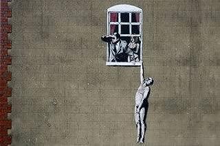 Window Lovers, Banksy - CANVAS OR PRINT WALL ART
