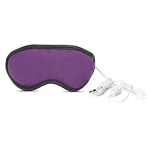 DYWOZDP Elektrische USB Beheizte Augenmaske zu entlasten Augen Stress, Wiederaufladbare Augenmaske, Warm therapeutische Behandlung für trockenes Auge, Blepharitis, Gerstenkörner