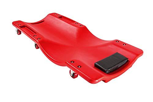 Carrello/Carrellino sottoauto/sotto auto per meccanico/officina con poggia testa (Cod.:3549)
