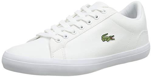 Lacoste Herren Lerond Bl 2 Trainer Low-Top Sneaker, Weiß (Wht), 44 EU