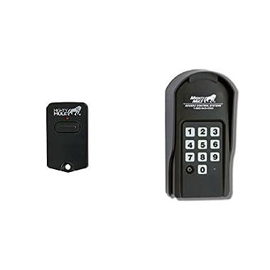 Mighty Mule Single Button Gate Opener Remote (FM135) + Mighty Mule Wireless Digital Keypad (FM137)
