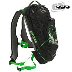 Buy Replacement For Part-6639-446 Arctic Cat Ogio Baja 70 Hydration Backpack - Black & Green