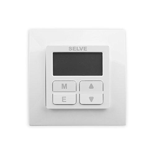 Selve Smarttimer Plus mit Astro-Funktion Rolladenuhr 296500 für Rollladen + Abdeckrahmen