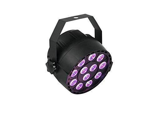 EUROLITE LED PARty TCL Spot | Kompakter Scheinwerfer mit 12 x 3-Watt-3in1-LEDs in RGB mit DMX | Musiksteuerung über eingebautes Mikrofon