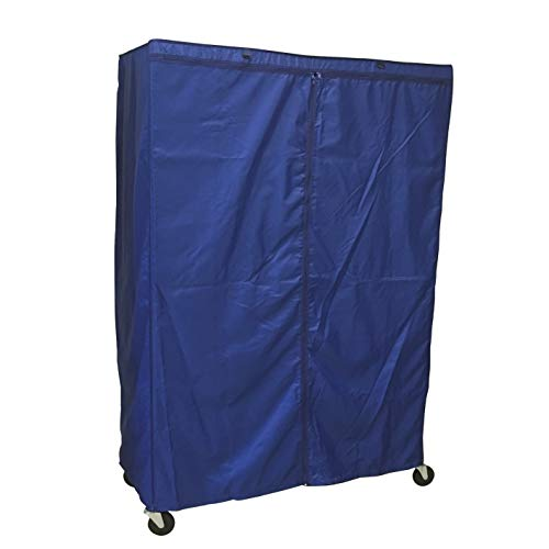 Formosa Covers Storage Shelving Unit Cover, fits Racks 60 Wx24 Dx72 H (Cover only, Royal Color)