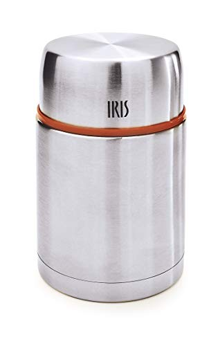 IRIS Termo Acero Inoxidable, INOX, 10.3 cm