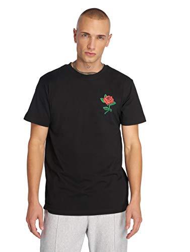 Mister Tee Herren Rose Tee T shirt, Schwarz, M EU