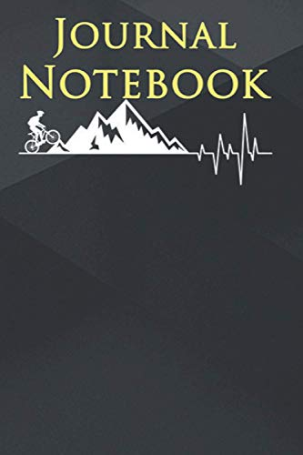 Composition Notebook: funny for Mountain Bike Heartbeat for MTB Bikers 6'' x 9'', 100 Pages, Soft Cover, Matte Finish A Cute Wonderful Gift For anyone