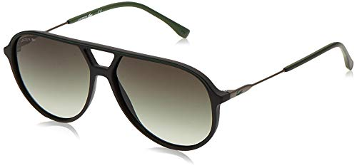 LACOSTE EYEWEAR Mens L927S Sunglasses, Black, 5913