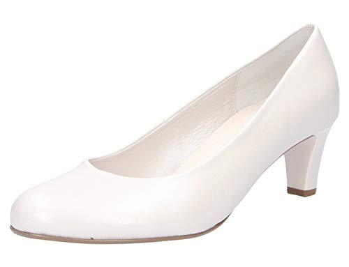Gabor Shoes Damen Basic Pumps, Weiß (Off-White(+Absatz) 80), 38 EU