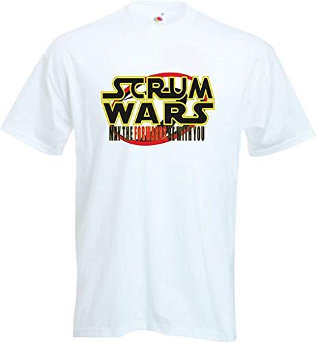 RISKYT Grappige Rugby Fan Top Supporters Scrum Wars kan de vooruitzichten worden met u T Shirt