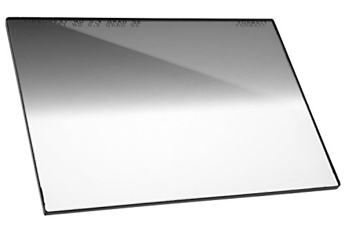 "Firecrest ND 4x5.65 Neutral Density Horizontal Soft Edge Graduated Filter 0.9 (3 Stops) for video, broadcast and cinema production, compatible with all 4x5.65"" matte boxes"