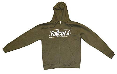 Fallout 4 Logo Adult Hoodie, Small