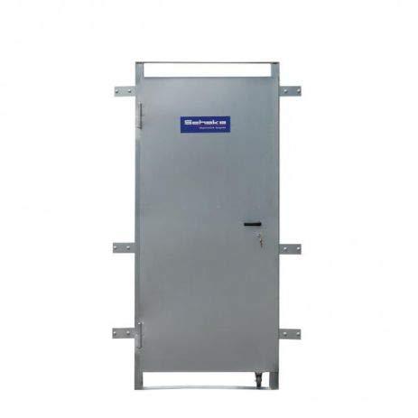 Bauzaun-Stahltür - Tür Aus Stahl Für Bauzäune & Mobilzäune - Mobil & Schnell Für Jeden Einsatz