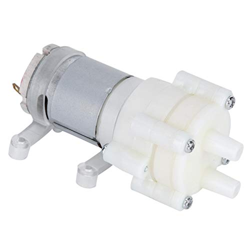 LANTRO JS - Bomba de diafragma 365 6-12v DC, Mini Bombeo eléctrico...