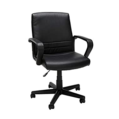 OFM ESS Collection Mid Back Executive Chair, in Black (E1008)