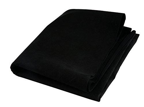 FRA-BER Panno Pelle Alcantara 60X80 CM 0,6 MM per Asciugatura Rapida