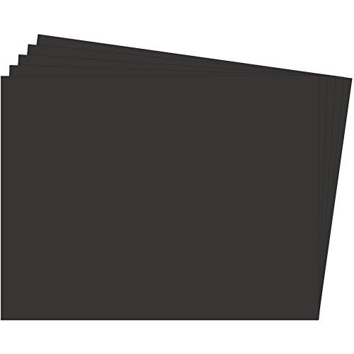 Fixo Paper 11100210 – Paquete de 25 cartulinas 50x65 – Cartulina negra grande – 180g