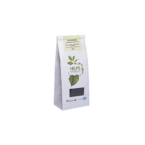 HELPS INFUSIONES - Té Negro A Granel 100% Natural. Infusión Estimulante Y Adelgazante....
