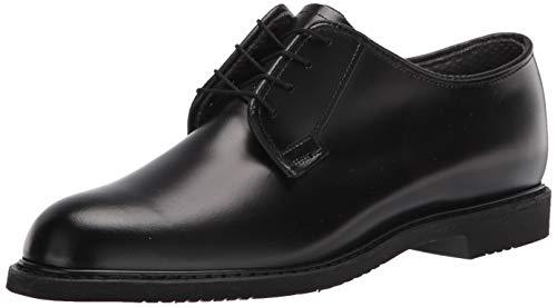 Bates Women's Lites Leather Oxford Uniform Dress Shoe, Black, 5.5