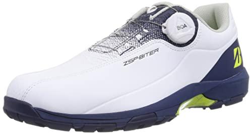 [Bridgestone] [ブリヂストンゴルフ] ゴルフシューズ GOLF(ブリヂストンゴルフ) メンズ ホワイトネイビー 25.5 cm 3E