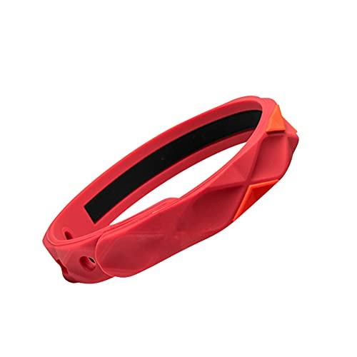 braccialetto antistatico Braccialetto antistatico regolabile di moda Braccialetti sportivi da basket Braccialetto sportivo Corpo silicone Eliminatore di elettricità statica Componente braccialetto antistatico per donna Uomo