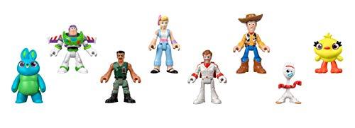 Fisher-Price Imaginext Disney Pixar Toy Story 4 Figure 8 Pack [Amazon Exclusive]
