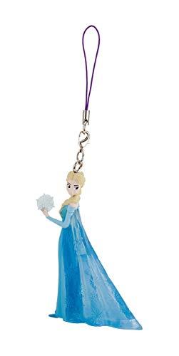 Bullyland 13071 - Porte-clés Walt Disney Frozen - La Reine des Glaces, Mini Elsa, environ 7,5 cm de hauteur, à attacher à votre porte-clés, sac à main ou sac à dos.