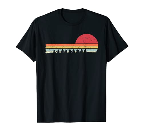 Rowing Shirt. Retro Style T-Shirt For Rower