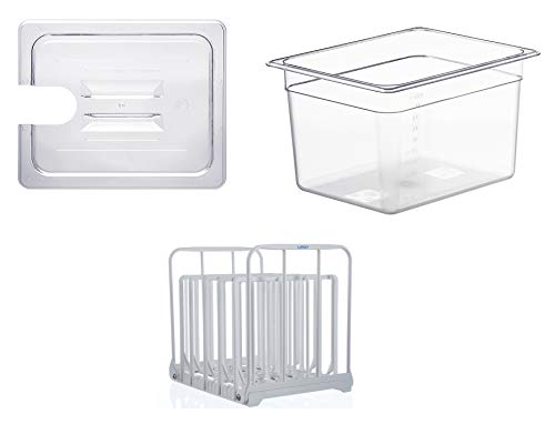 LIPAVI Combination NC10-GO - With Lid, Container and Rack - For Gourmia, VPCOK ++ - 11L container