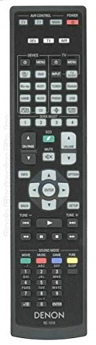 Replacement TV Remote Control Controller for Denon AVR-X4500H AVR-X4700H 8K Ultra HD 9.2 Channel AV Receiver
