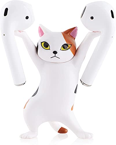 Cat Headphone Stand Headset Holder Accessories for Apple AirPods, Cat Wireless Earphone Stands &...