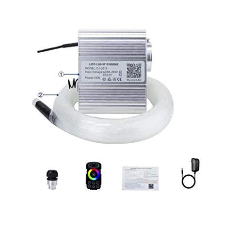 YSSMAO Glasfaser-Licht 10W RGBW Twinkle Bluetooth APP Steuerung Touch-RF Control Car Starry LED-Lampe-Kind-Raum-Deckenleuchte