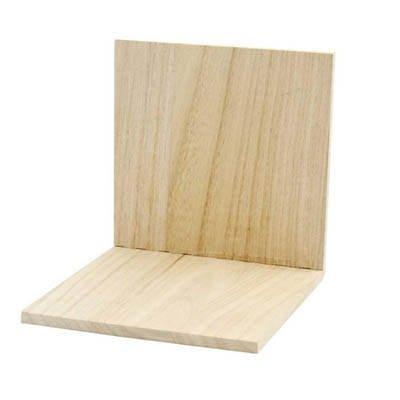 Buchstütze aus Holz, 15x15x15cm [Spielzeug]