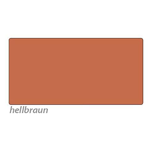 Tonpapier, 50 x 70 cm, 10 Bg., hellbraun - Bastelpapier Bastelkarton Tonkarton