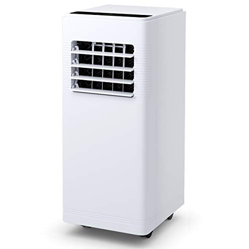 GOFLAME 12000BTU Air Conditioner Portable, Standing Room AC Unit with Remote Control, Built-in Dehumidifier, Fan Mode, Window and Wall Mount