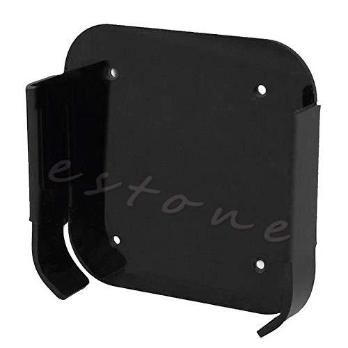 Bandeja de soporte de soporte de caja de montaje en pared de 1 pieza negra para Apple TV 2 3 y Airport Express