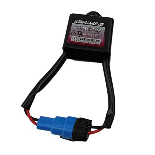 Rouku 1 Piezas Kit de conversión Universal de xenón HID Error del Tablero de Instrumentos Decodificador de cancelación de Advertencia y Condensador antiparpadeo