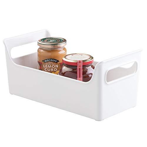 Price comparison product image InterDesign Refrigerator and Freezer Storage Organizer Condiment Bin for Kitchen - White