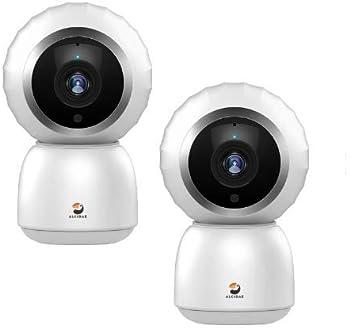 2-Pack Alcidae Visioner 1080p Cloud WiFi Security Camera