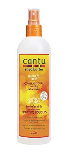 Cantu - Burro di karitè per capelli naturali Comeback Curl, ravviva i riccioli il giorno dopo, 355ml