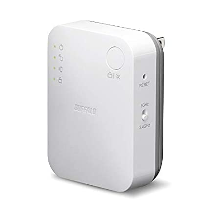 【24時まで再販】BUFFALO 11ac/n/g/b 433+300Mbps対応無線LAN中継器 WEX-733DHP 1,580円送料無料!