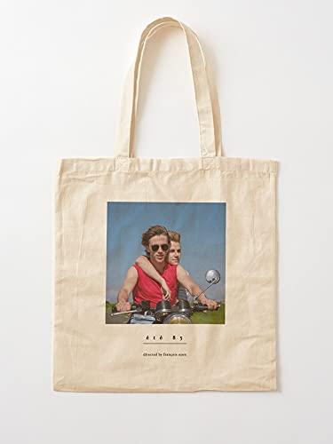 Générique France Summer 85 1985 François Ozon Cinema Ete French | Einkaufstaschen aus Leinen mit Griffen, Einkaufstaschen aus nachhaltiger Baumwolle