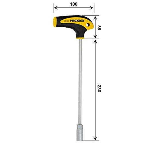 Proxxon 22488 L-Griff-Schraubendreher Außensechskant HX 13 mm