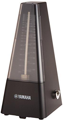 ヤマハ YAMAHA メトロノーム ブラック MP-90BK 定番の三角錐スタイル マット仕上げにより指紋が付きにくい仕様 ゼンマイ駆動 ネジ巻きツマミは巻きやすい新形状