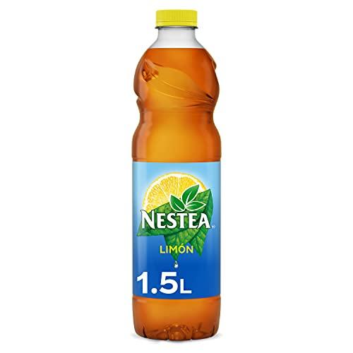 Nestea Té Negro Limón - Refresco de té sin gas. Bajo en calorías - Botella 1,5L