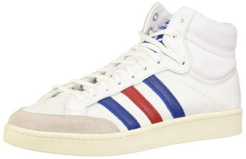adidas EF2803, Chaussure de Piste d'athltisme Homme, Blanc/Bleu/Rouge, 39 1/3 EU